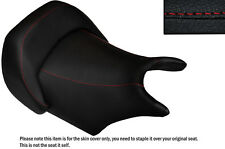 DESIGN 2 B RED STITCH CUSTOM FITS YAMAHA V MAX 1200 FRONT LEATHER SEAT COVER