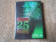 SNL LIVE MUSIC DVD VOL 4 MADONNA PAUL McCARTNEY of THE BEATLES NIRVANA + SEALED