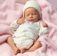 NEWBORN BABY GIRL! - Feel Her Breathe! 17 Inch Lifelike Collectors Newborn Doll