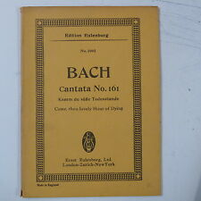 mini - pocket score BACH cantata 161