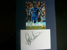 MICHAEL ESSIEN   CHELSEA    PLAYER   Signed