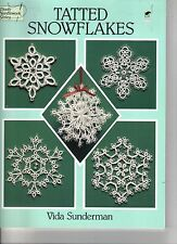 Tatted Snowflakes  ~ 40 Designs  ~  TATTING BOOK