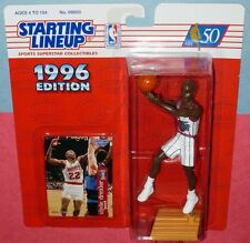 1996 CLYDE DREXLER Houston 1st Rockets - low s/h - Kenner Starting Lineup