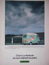 PUBLICITÉ 1978 A LA REDOUTE ET C'EST VRAIMENT AU POINT - ESTAFETTE - ADVERTISING
