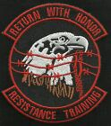 AIR FORCE USAF SERE RESISTANCE TRAINING RETURN WITH HONOR EAGLE MILITARY PATCH