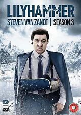 LILYHAMMER Stagione 3 Serie Completa BOX 2 DVD in Inglese NEW .cp