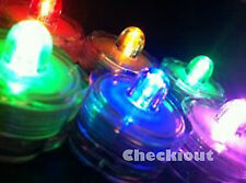 12 LED submersible Mulit Color Wedding Floralyte Tea Candle light decoration