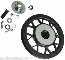 Recoil Starter Pulley Repair Kit & Spring Fits QUALCAST QX With TECUMSEH Engine