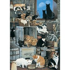 NEW! Otter House A Company of Cats by Pollyanna Pickering 1000 piece jigsaw