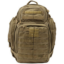 5.11 RUSH 72 TACTICAL COMBAT BACKPACK TRAVEL HIKING RUCKSACK MOLLE 55L SANDSTONE