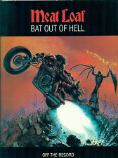 Meat Loaf song book Bat Out of Hell BAND SCORE Off the Record Guitar Tab Bass