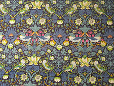 "LIBERTY TANA LAWN FABRIC DESIGN ""Strawberry Thief J "" 2.3 metres x 1.34 METRES"