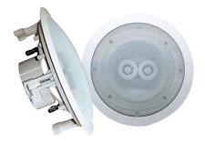 PyleHome PWRC52 200 W RMS Speaker - 2-way - White - 65 Hz to 22 kHz - 8 Ohm -