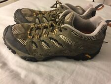 Merrell Walnut Continuum Mens Hiking Shoes w/Vibram Soles Size 11.5
