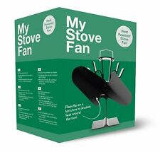 My Stove Fan - 2 Blade Heat Powered Warm Air Circulating for Solid Fuel Stoves