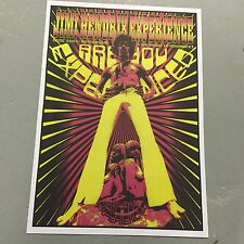 JIMI HENDRIX - CONCERT POSTER ROTTERDAM HOLLAND 10th NOVEMBER 1967 (A3 SIZE)