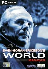 Sven-Göran Ericksson's World Manager, PC CD-ROM juego.