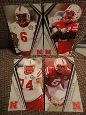 Nebraska four (4) Huskers 2014 Schedule Cards Lot Cooper Zaire Mitchell Moudy