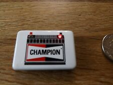 Champion Battery Flashing Advertising Pin. Works Very Well.