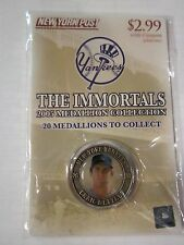 2005 Craig Nettles New York Post Medallion Yankees Sealed The Immortals Mint