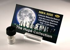 Legendary NWA 5000 Lunar Meteorite Moon Rock 1.0 grams Pure Dust - MUST SEE!
