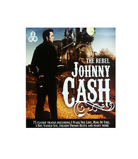Johnny Cash (2013) Greatest Hits (3 CD Box Set) The Rebel (The Very Best Of)