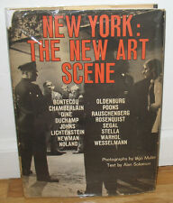 Ugo Mulas New York The New Art Scene Gravure Roy Lichtenstein Dust Jacket HC