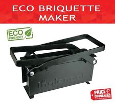 ECO Paper Log Briquette Blocks Maker Old Newspaper Press Recycle Small DIY