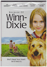 BECAUSE OF WINN DIXIE (DVD, 2009) NEW