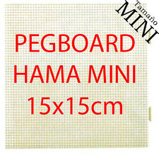 Placa / pegboard Hama Beads MINI 15x15cm interconectables