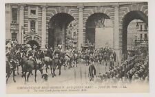 London postcard - Coronation of King George V & Queen Mary 1911 - :LL No. 5