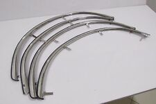 NEW Toyota Corolla KE70 TE71 Fender Trim Arch Flares Chrome Front And Rear 4 PCS