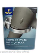 TCM Tchibo secador de pelo soporte Haicom para secador de pelo de metal nuevo