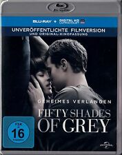 FIFTY SHADES OF GREY, Geheimes Verlangen (Dakota Johnson) Blu-ray Disc NEU+OVP