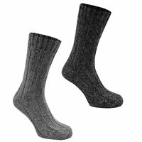 12 Pairs Mens Thermal Socks Winter Warm Thick Rich Wool Blend Hike Chunky Boot