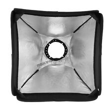 MK Softbox for SpeedLight Flash 40cm/16inch Flash Softbox with Carrying Bag NEW