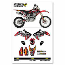 Honda CRF 150 R 2007-2014 Dirt Bike Graphic Decal BADBOY Racing By Enjoy Mfg