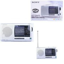 SONY ICF-SW11 12 World Band AM FM SW Shortwave Radio LED Indicator /GENUINE