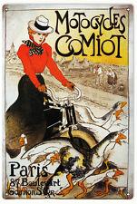 Nostalgic Motocycles Comiot Paris Sign