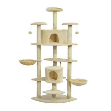 Cat Tree House Condo Post Play Toy Tower Kitten Furniture Scratch Pet Palace