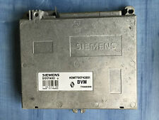 RENAULT R19 CALCULATEUR MOTEUR ECU 7700863563 HOM 7700742851 S10174101 D