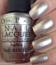 OPI '15 Soft Shades **THIS SILVER'S MINE** Pearly Silver Nail Polish Lacquer T67