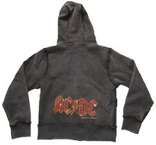 AMPLIFIED AC/DC Strass Kids Rock Star's ViP Kapuzen Pulli HOODIE Zip JACKE g.140
