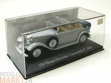 Mercedes Benz 770 Grand mercedes convertible f blanco modelo en escala 1:43 - Embalaje original
