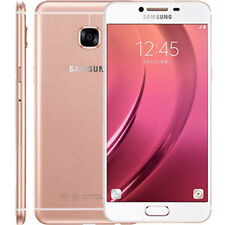 "New Imported Samsung Galaxy C7 Duos Dual 64GB 4GB 5.7"" 16MP 8MP Pink Gold"
