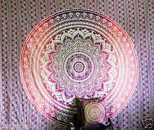 Indian Tapestry Wall Hanging Mandala Throw Twin Bedspread Gypsy Cover Bohemian
