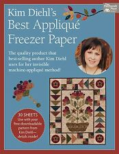 "Kim Diehl's Best Applique' Freezer Paper 30 sheets, 8 1/2"" x 11"""