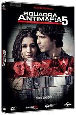 SQUADRA ANTIMAFIA - PALERMO OGGI - STAGIONE 05  5 DVD