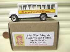 GOLDEN WHEELS 2011 57TH WEST VIRGINIA BLACK WALNUT FESTIVAL MINT IN MINT BOX*