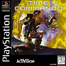 Time Commando - PS1 PS2 Playstation Game Complete